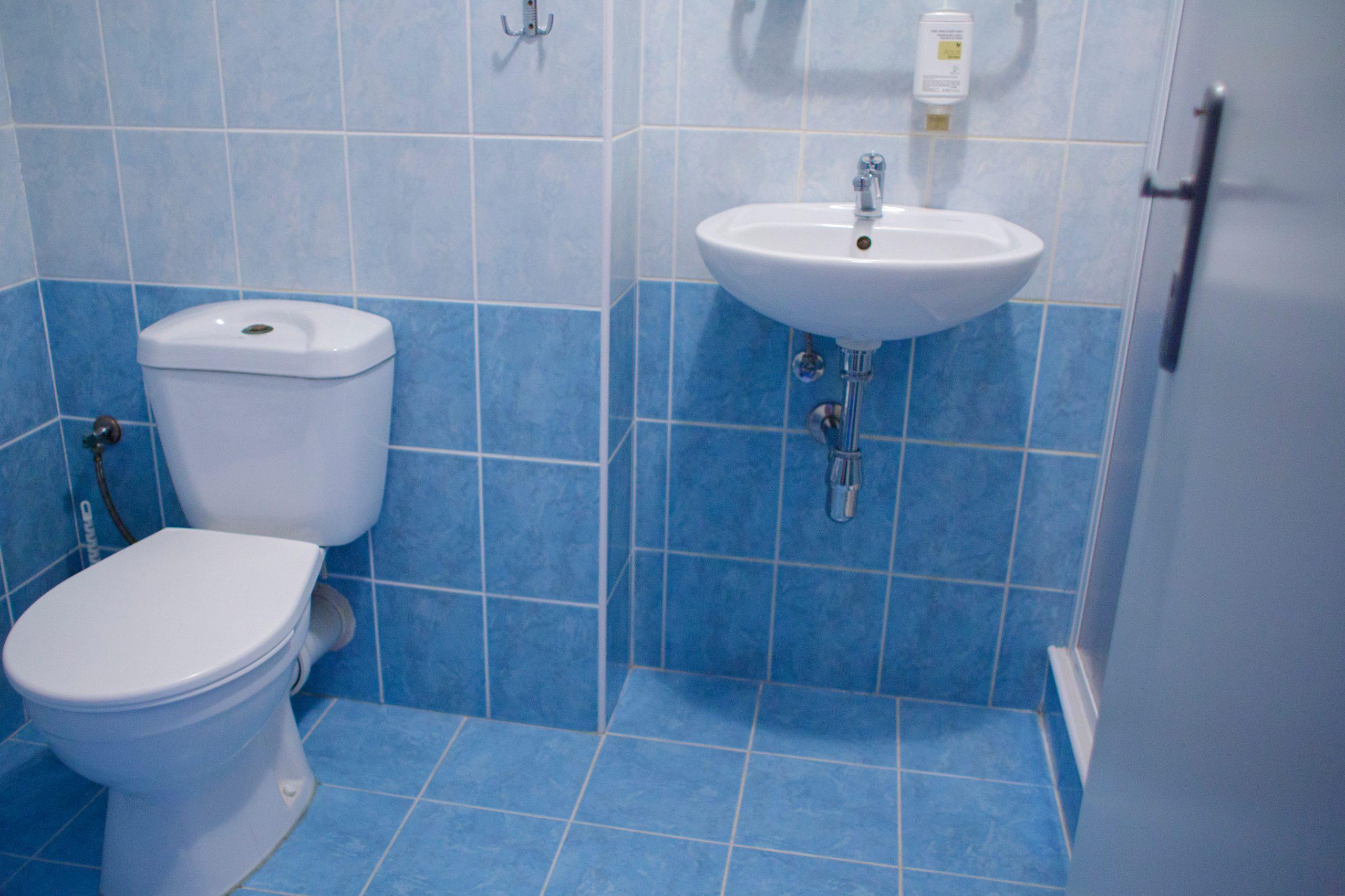Interiér pokoje - koupelna